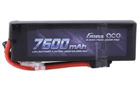 <b>Аккумулятор</b> Li-Po <b>7.4В 7600мАч</b> 2S2P 50C (Deans, EC3, <b>Traxxas</b> ...