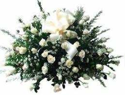 Resultat d'imatges de flores blancas de luto