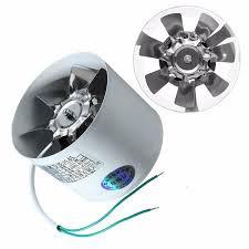 2800R/Min <b>Duct Booster Vent Fan</b> Metal 220V 20W <b>4 Inch</b> Inline ...