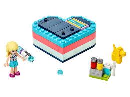 Летняя шкатулка-сердечко для <b>Стефани</b> 41386 | <b>Friends</b> | <b>LEGO</b> ...