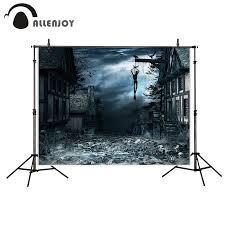 Allenjoy photography background dark blurry cemetery bat dead ...