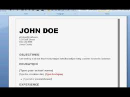 how to write a good resume   youtube