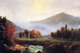 Thomas Cole  American artist             Morning Mist Rising Plymouth New Hampshire