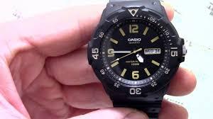 <b>Часы Casio MRW</b>-<b>200H</b>-1B3 - видео обзор от PresidentWatches.Ru