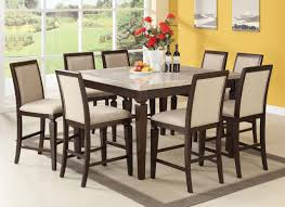 room fascinating counter height table: fascinating tall dining room sets collection for your home dining room decor