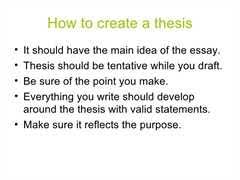 help me make a thesis statement help me make a thesis statement free online