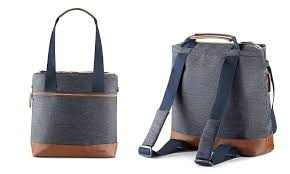 <b>Сумка</b>-<b>рюкзак для коляски Inglesina</b> Back Bag Aptica Indigo Denim ...