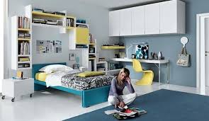 fantastic teen rooms designs teenagers will love simple teenagers room blue yellow and white furniture blue and white furniture