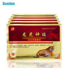 Sumifun 8pcs/Bag Tiger Balm Plaster Herbal Capsicum For Joint ...