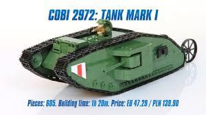 [<b>COBI</b> 2972] Tank Mark I review & speed build - YouTube