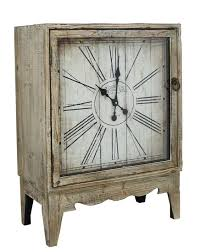 shabby chic natural wood clock cabinet modern furniture and lighting modern furniture and lighting cabinet and lighting