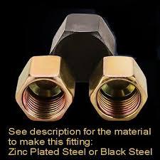 Banjo Bolt Cap Nut Metric <b>Thread</b> M16X1.5 M16 <b>Fuel Oil Gas</b> Boat L ...