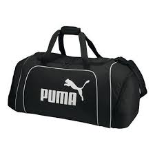 Puma <b>Large</b> Athlete <b>Team</b> Duffle <b>Bag</b> Shoulder Strap & Easy Carry ...