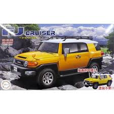 1/24 Toyota <b>FJ</b> Cruiser (Two Tone Yellow) - Model Kit | at Mighty ...