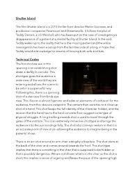 shutter island analysis thriller genre shutter photography