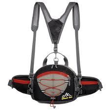 Unisex Multi-purpose Waist Bag with Water Bottle Pockets <b>Outdoor</b> ...