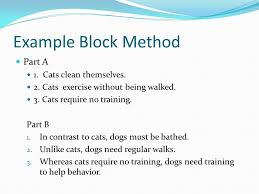 Essay block help   Ict ocr coursework help Compare and Contrast Essay Outline  The Body Paragraphs