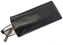 Mala <b>Leather</b> Slip in Glasses <b>Sleeve Case in</b> Soft <b>Leather</b> and Many ...
