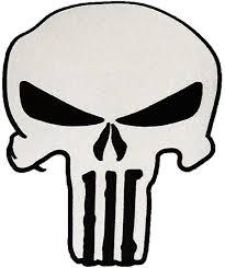 Large Biker Jacket Patch Punisher Skull Patch Iron or ... - Amazon.com