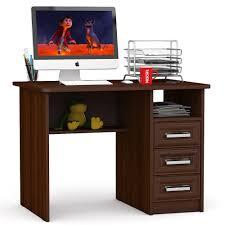 <b>Письменный стол</b> Мебельный Двор С-МД-1-05, цвет <b>орех</b> ...