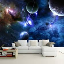 <b>Custom 3D</b> Photo <b>Wallpaper Star</b> Planet Universe Space Planet ...