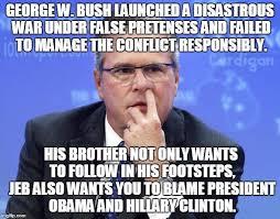 Jeb Bush Nostril Explorer Meme Generator - Imgflip via Relatably.com
