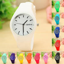 <b>New Fashion Famous Brand</b> Silicone Women Watch Quartz Casual ...