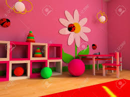 zones bedroom wallpaper: game zone in a childrens room d image stock photo