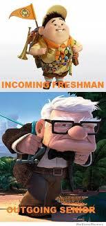 Incoming Freshman Vs Outgoing Senior | WeKnowMemes via Relatably.com