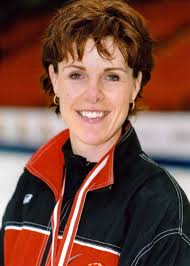 Canada's Julie Skinner, part of the women's curling team at the 2002 Salt Lake City. : Skinner, Julie. : Canada's Julie Skinner, part of the women's curling ... - skinner-v6