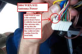 04 wrx sti antenna wiring in picture nasioc