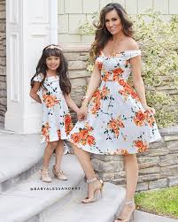Pudcoco New <b>Summer Family Matching</b> Floral <b>Dress</b> Mother ...