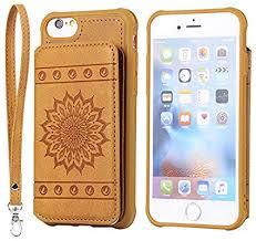 iPhone 6 Plus/6S Plus Case,DAMONDY <b>Luxury Flower Sunflower</b> ...