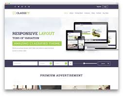 top responsive wordpress classifieds directory theme for job classify wordpress theme