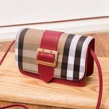 Retro Girl Contrast Leather Buckle Diagonal Bag Magnetic ... - Vova