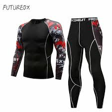 New 3D Junior <b>Wolf</b> Compression Costume Men's Functional Long ...