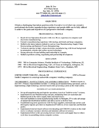 professional resume models samples examples format professional resume models
