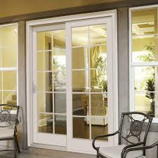 patio doors with blinds between the glass: fabulous home depot sliding patio doors masterpiece  in x  in composite right hand smooth