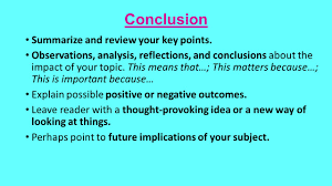 informational explanatory writing informational explanatory 8 conclusion