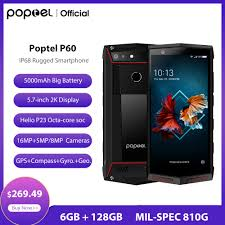 <b>2020 New</b> version <b>Poptel</b> P60 rugged smartphone with PTT 6+128G ...