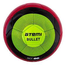<b>Мяч</b> футбольный <b>ATEMI BULLET WINTER</b> красн/чёрн/зел р 5 ...