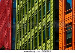 colourful office buildings central saint giles development london england stock photo central saint giles office building google