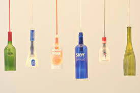 are you talking about a pendant light bottle lighting