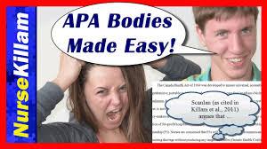 essay body basics apa made easy guide video of  essay body basics apa made easy guide video 3 of 4