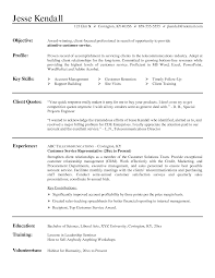 sample resume for customer service representative no cover letter customer service representative no experience