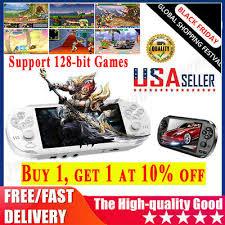 <b>X1</b> PSP Game Consoles Player 4.3'' 8GB <b>Handheld</b> Built-in 10000 ...