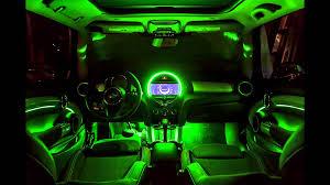 mini f56 interior ambient lighting car mood lighting