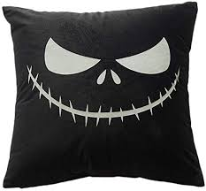 XISAOK Happy <b>Halloween</b> Decorative <b>Luminous</b> Throw Pillow <b>Case</b> ...