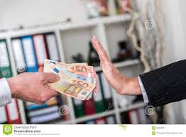 hand rejecting an offer of money stock photo image 59589617 hand rejecting an offer of money