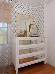 furniture white wooden dressing table with mirror on the drawers combined with mirror having cream beautiful combination wood metal furniture
